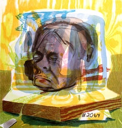 Untitled (Head of Timothy Leary)