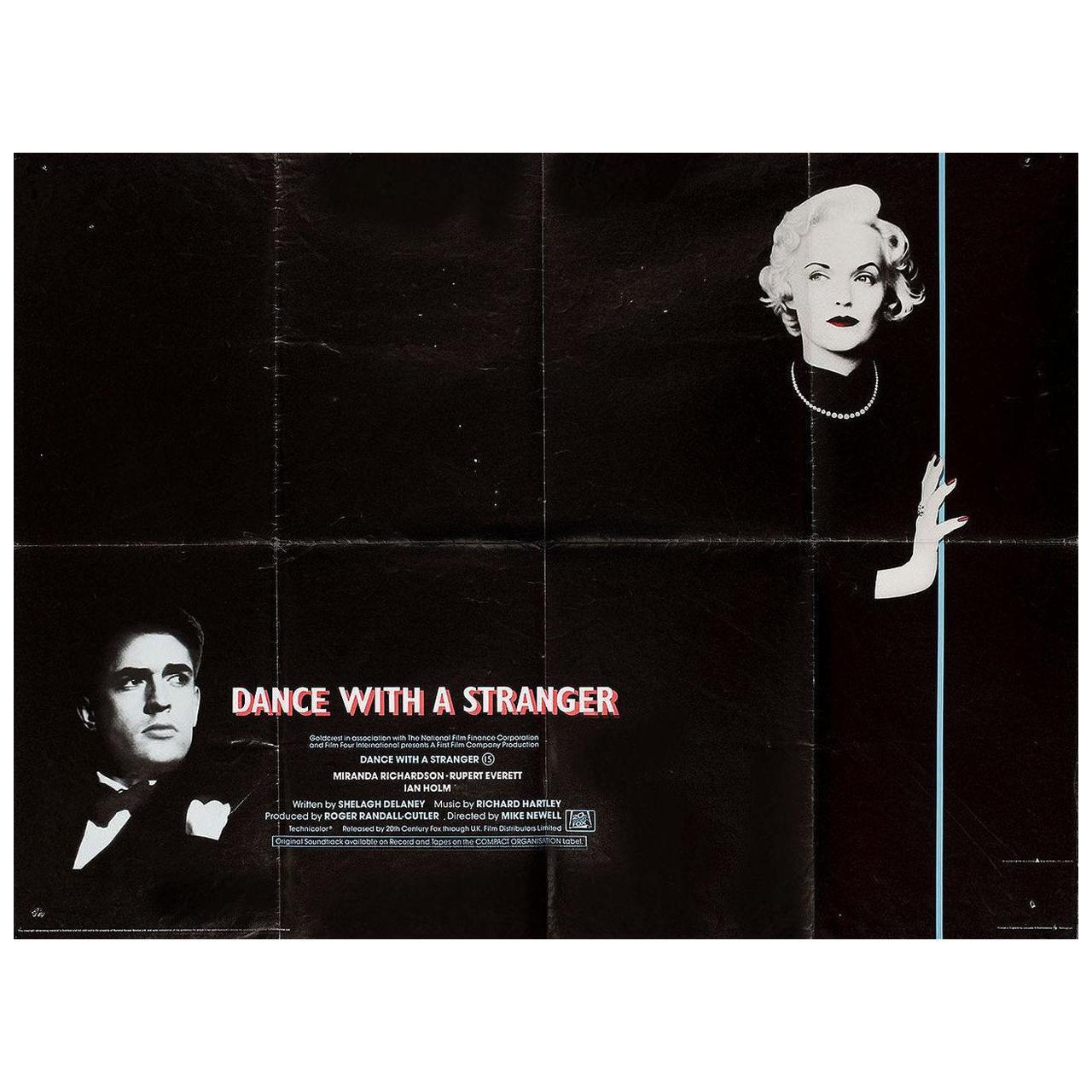 """Dance with a Stranger"" 1985 British Quad Film Poster"