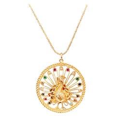 Sapphire Pendant Necklaces