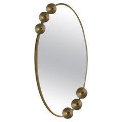 Dandelion Oval Mirror