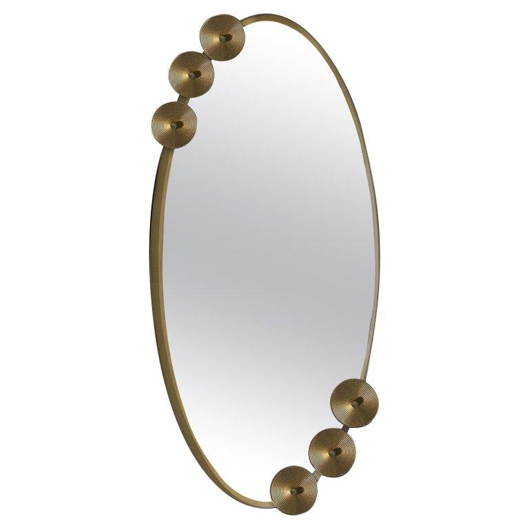 Dandelion Oval Mirror For Sale