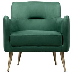 Dandridge Armchair in Green