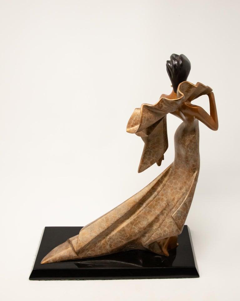 Daner Bronze Sculpture, Icarus, 1991 For Sale 3