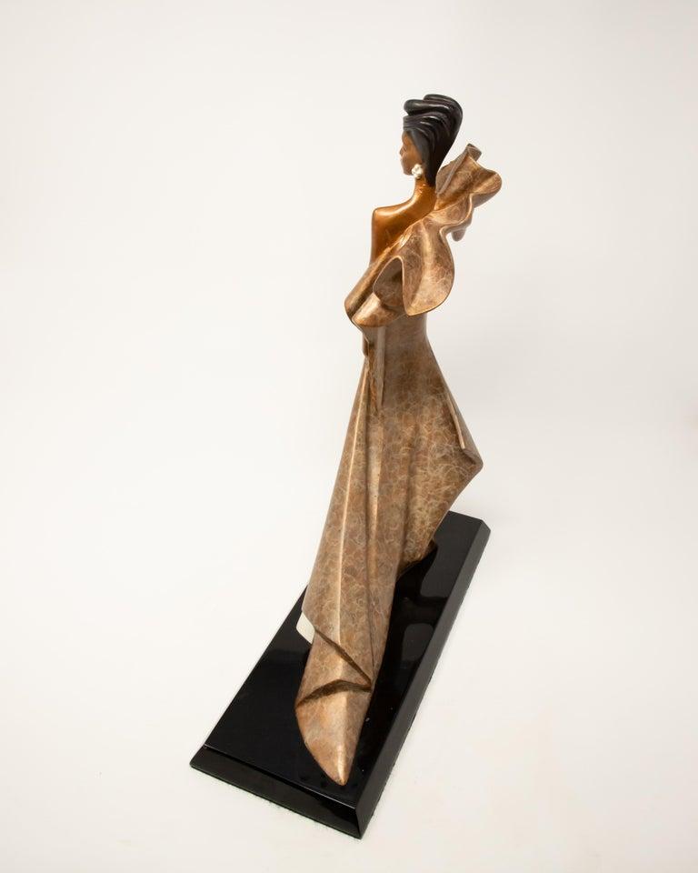 Daner Bronze Sculpture, Icarus, 1991 For Sale 4