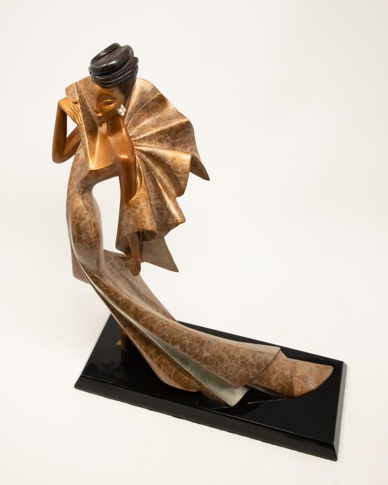 Daner Bronze Sculpture, Icarus, 1991 For Sale 5
