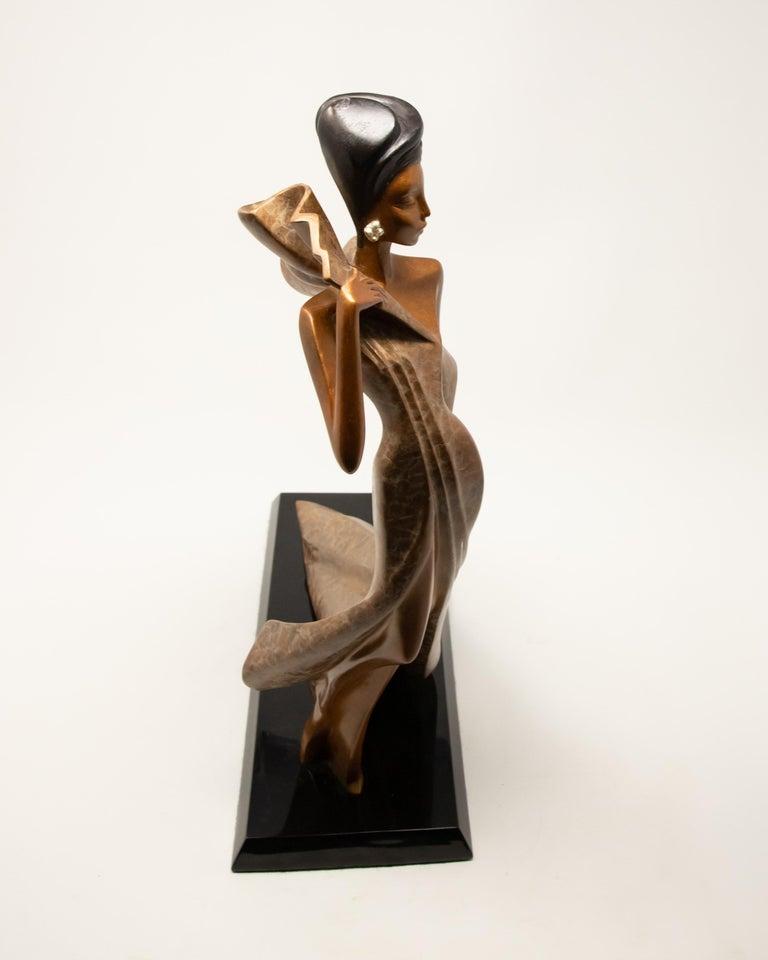 20th Century Daner Bronze Sculpture, Icarus, 1991 For Sale