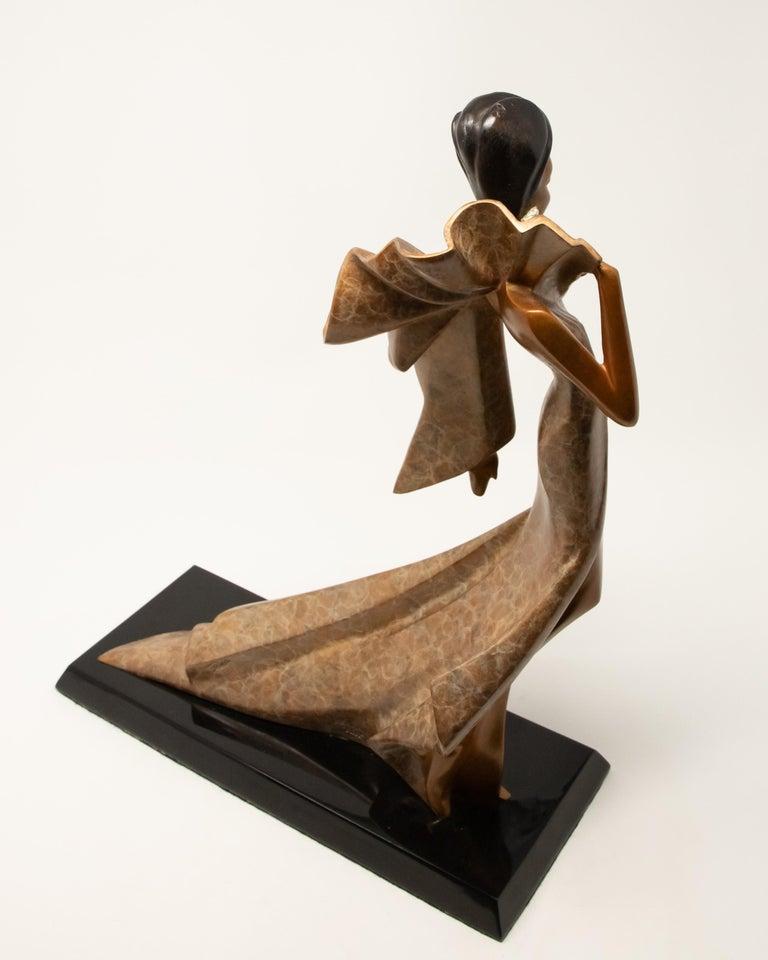 Daner Bronze Sculpture, Icarus, 1991 For Sale 1