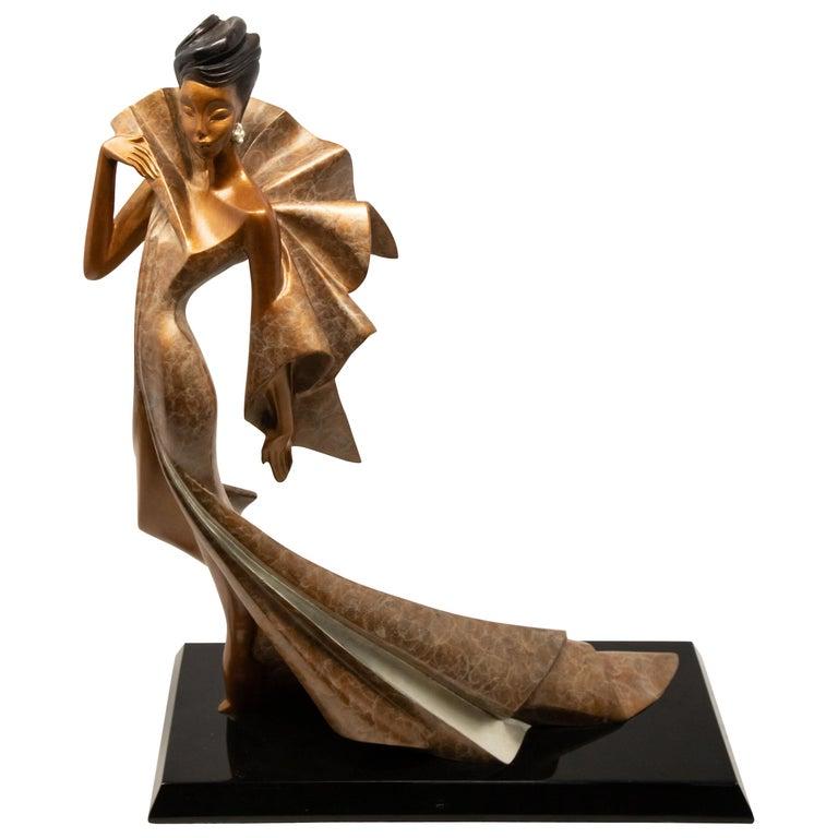 Daner Bronze Sculpture, Icarus, 1991 For Sale