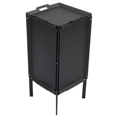 Danese Milano Double Life Storage Unit in Black Metal by Matali Crasset