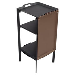 Danese Milano Double Life Storage Unit Tray in Brown Metal by Matali Crasset