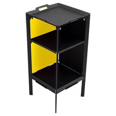 Danese Milano Double Life Storage Unit Tray in Yellow Metal by Matali Crasset