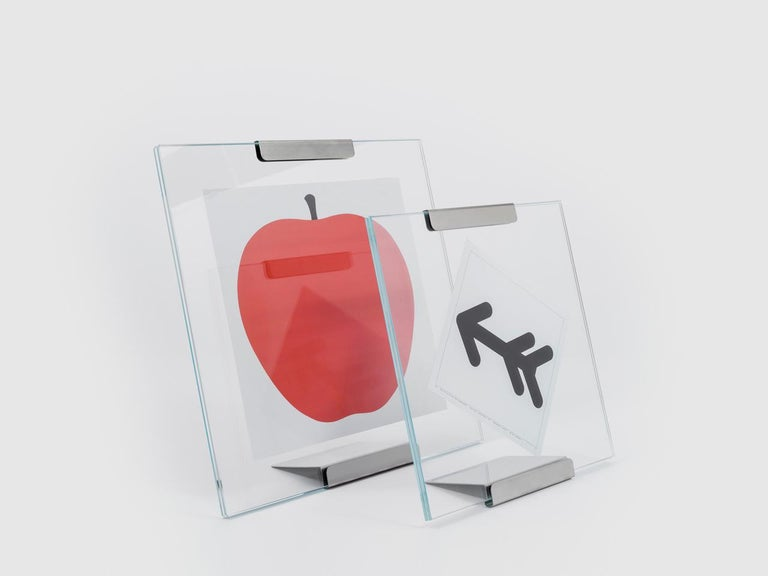 Italian Danese Milano Galapagos Small Frame  by Bruno Munari For Sale