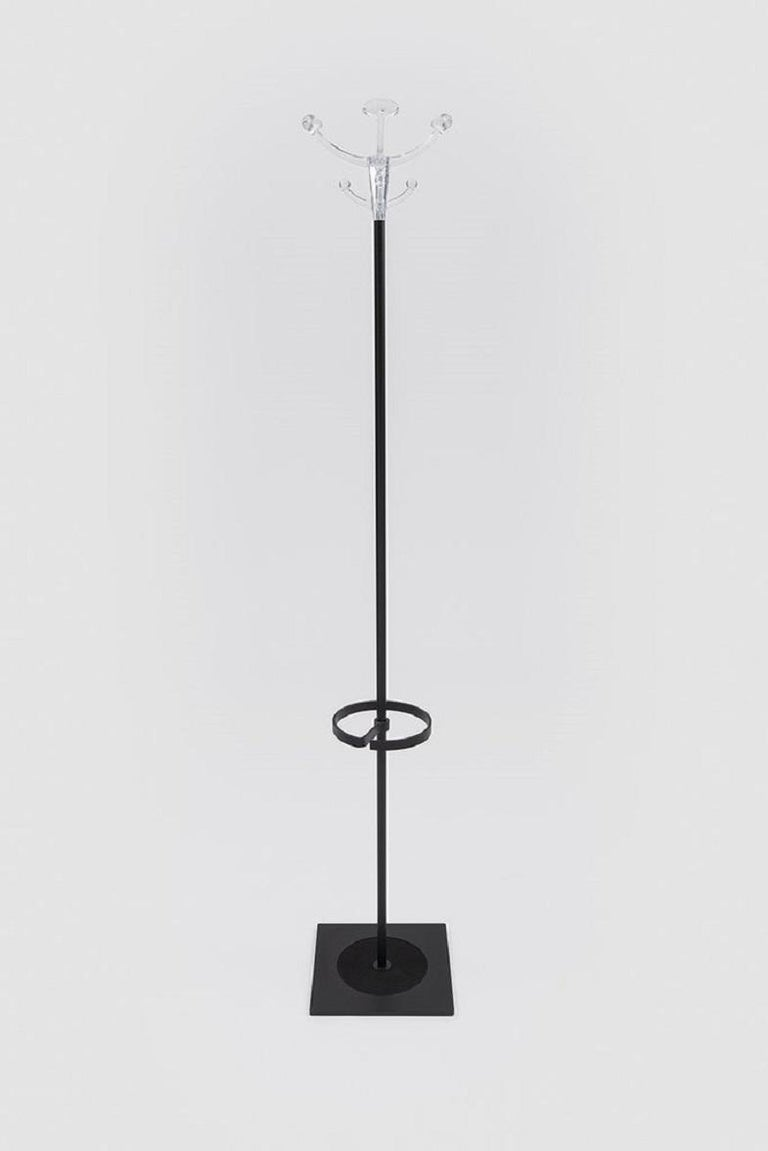 Humphrey by Danese Milano is a modern coat and umbrella stand designed by Italian architect Rizzatto who had established a strong design presence with his lighting designs for LucePlan. Rizzatto newest work in combination with Danese has resulted in
