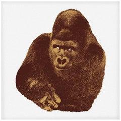 Danese Milano Quindici, Il Gorilla Print by Enzo Mari