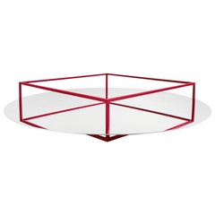 Danese Milano Surface + Border No. 1 Tray or Fruit Bowl in Red by Ron Gilad