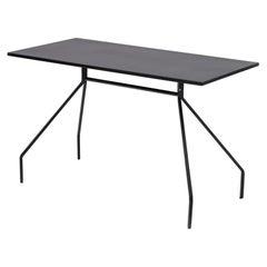 Danese Milano X&Y Medium Desk in Black Metal by Paolo Rizzatto