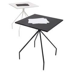 Danese Milano X&Y Small Desk in Black Metal by Paolo Rizzatto