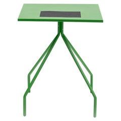 Danese Milano X&Y Small Desk in Green Metal by Paolo Rizzatto