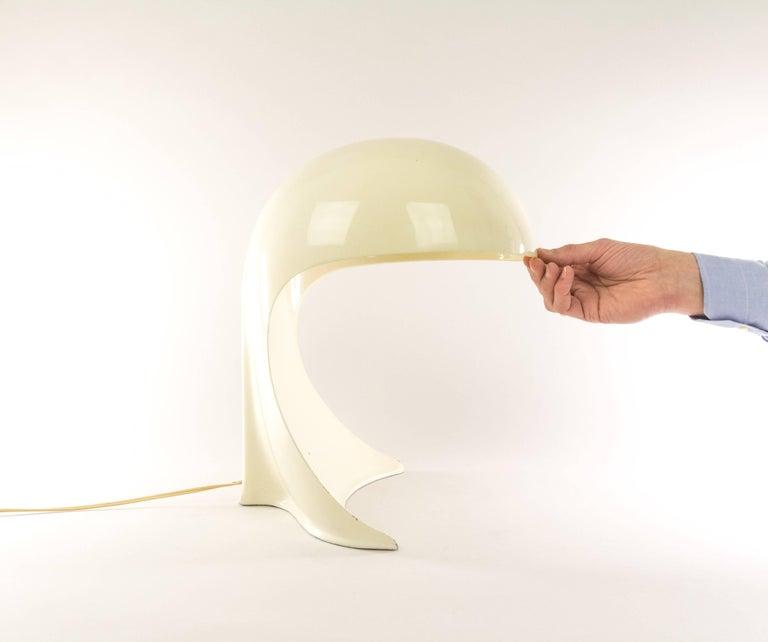 Aluminum Dania Table Lamp by Dario Tognon and Studio Celli for Artemide, 1960s For Sale