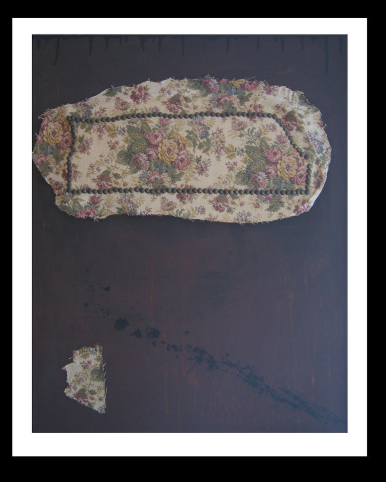 Brown- Original abstract informalistmixed media painting  Argimon (Sarriá 1929 - Barcelona 1996) is one of the great Catalan informalist artists. This painter, engraver and sculptor touched much of the 20th century art from paintings, collages,
