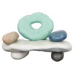"Daniel Arsham, ""Pebbles Armchair"", 2021"