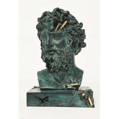 Daniel Arsham, Bronze Eroded Jupiter Sculpture, Hand-Finished,2020