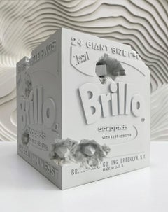 Daniel Arsham Eroded Brillo Box, 2020