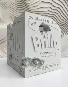 Daniel Arsham - Eroded Brillo Box - Contemporary Art