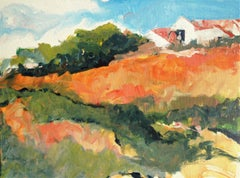Eagle Rock Hillside, Painting, Acrylic on Other