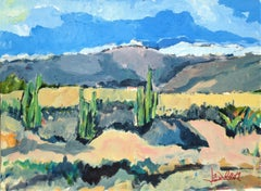 High Desert Vista, Painting, Acrylic on Other