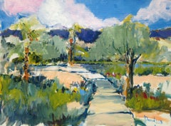 Palm Springs Environs, Painting, Acrylic on Other