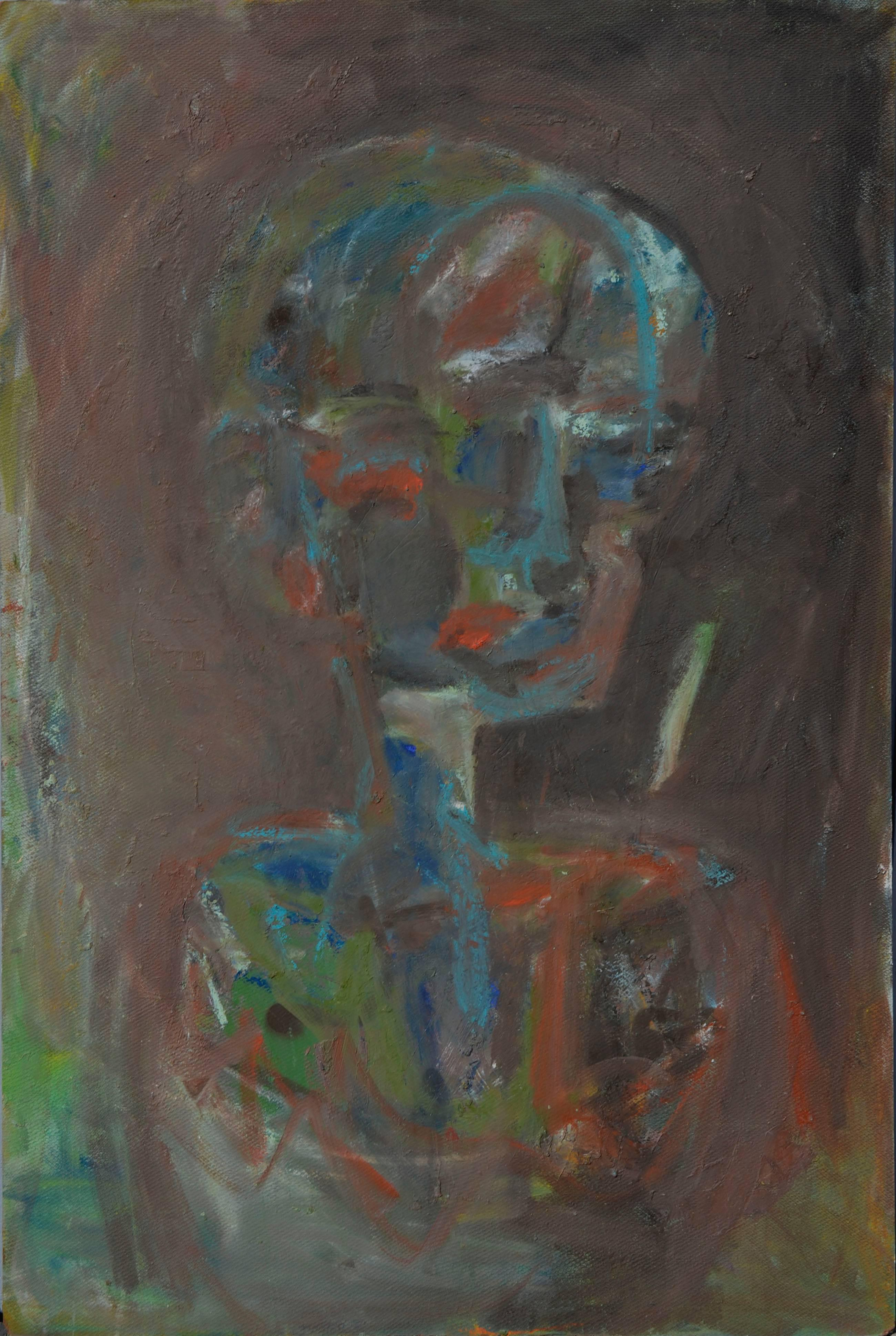Looking Away - Figurative Abstract