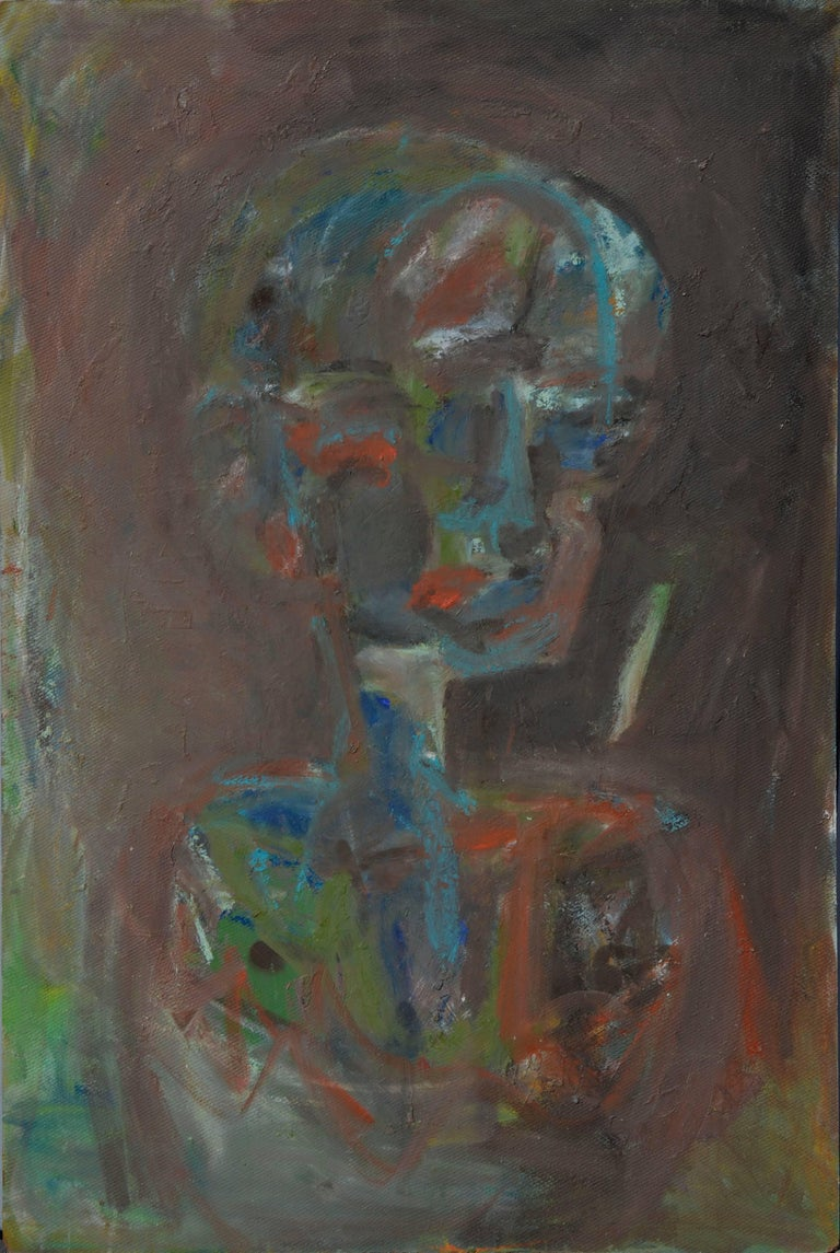 Daniel David Fuentes Abstract Painting - Looking Away