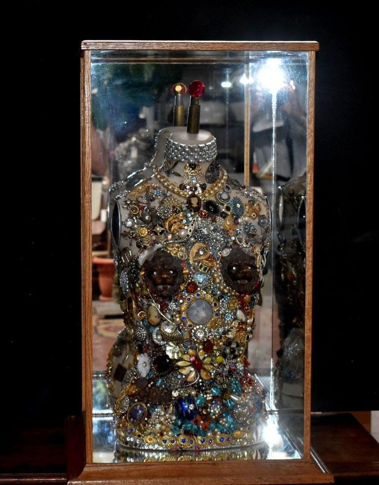Daniel Dupir Unique Jewelry Sculpture For Sale 8