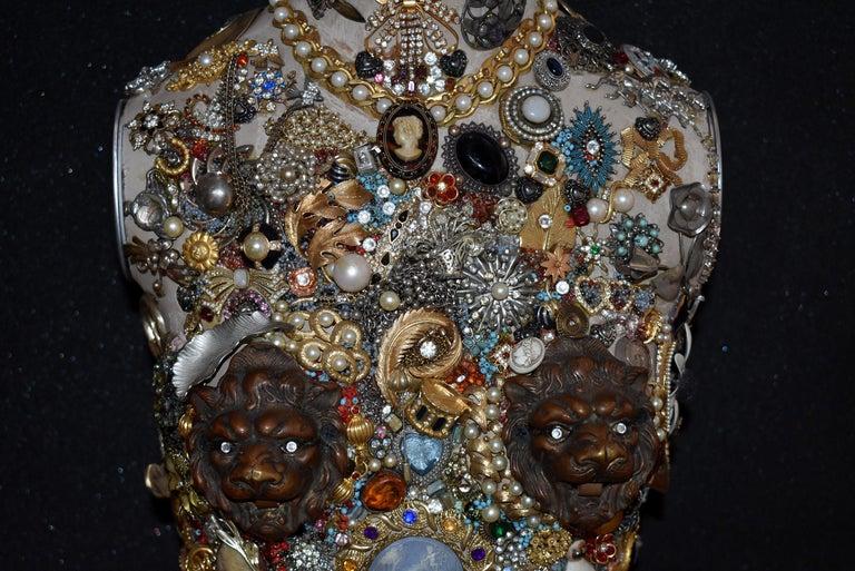 French Daniel Dupir Unique Jewelry Sculpture For Sale