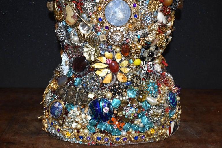 Daniel Dupir Unique Jewelry Sculpture In Good Condition For Sale In Los Angeles, CA