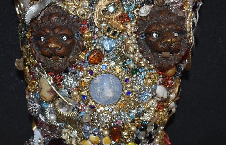 20th Century Daniel Dupir Unique Jewelry Sculpture For Sale
