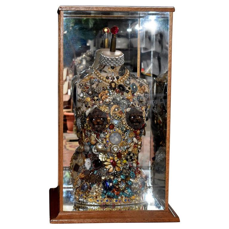 Daniel Dupir Unique Jewelry Sculpture For Sale
