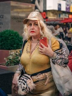 Boss Lady, street photography, snapshot aesthetic portrait