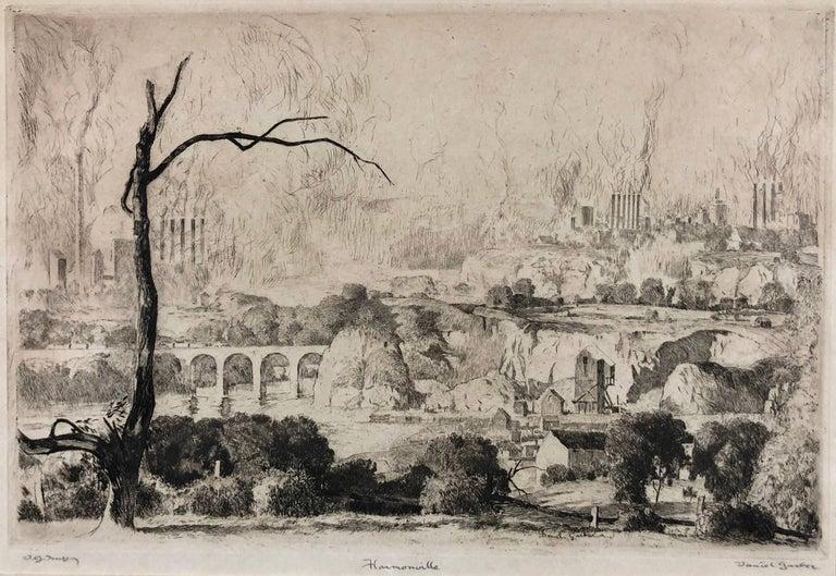 Daniel Garber Landscape Print - Harmonville