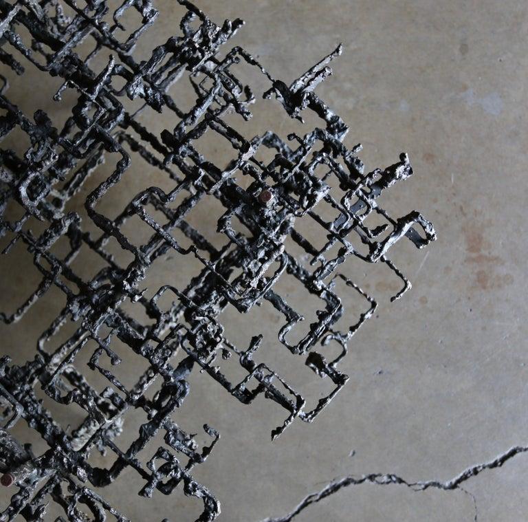 Daniel Gluck Sculptural Coffee Table, circa 1970 For Sale 3