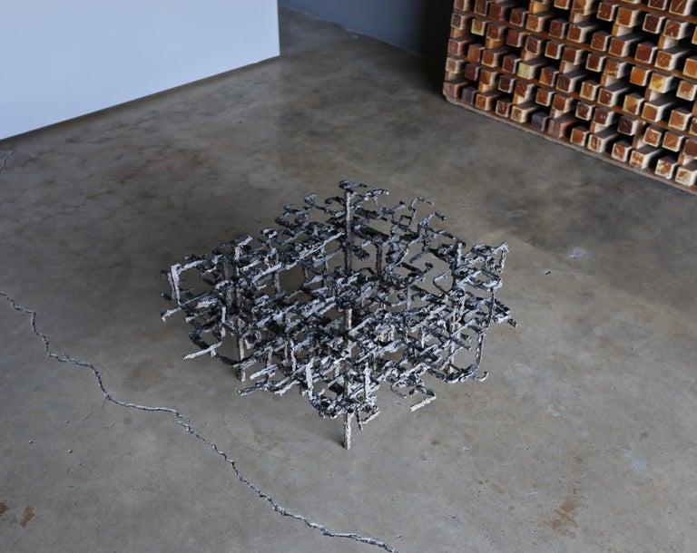 Daniel Gluck Sculptural Coffee Table, circa 1970 For Sale 4