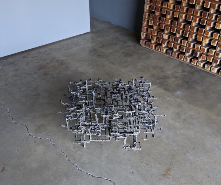 Daniel Gluck Sculptural Coffee Table, circa 1970 For Sale 5