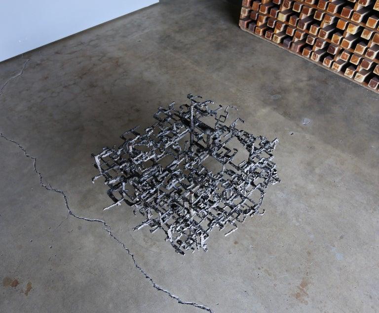 Daniel Gluck Sculptural Coffee Table, circa 1970 For Sale 1