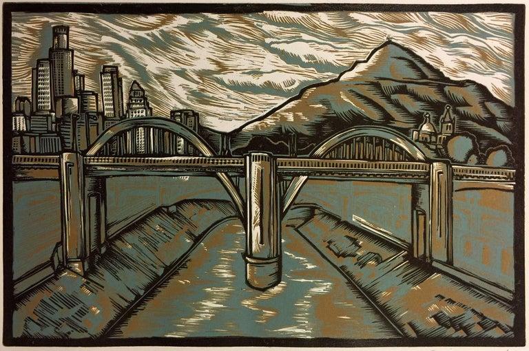 Daniel Gonzalez Landscape Print - Somos Puente