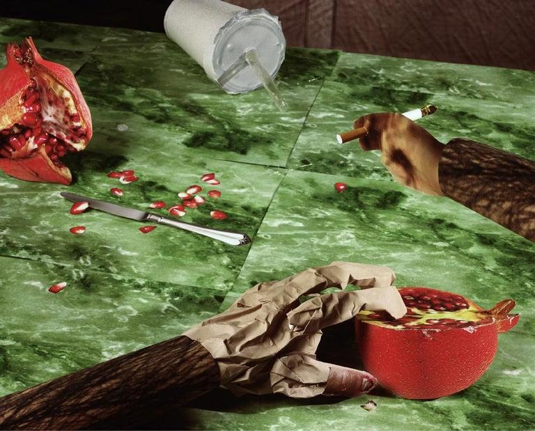 Daniel Gordon Color Photograph - Pomegranate