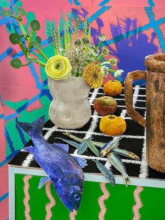 Flowers and Fish, 2020 - Daniel Gordon