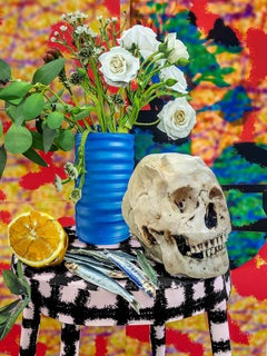 Flowers and Skull, 2020 - Daniel Gordon