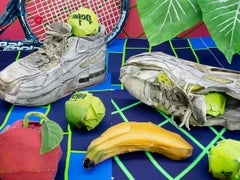 Still Life with Tennis Balls and Racket, 2020 - Daniel Gordon