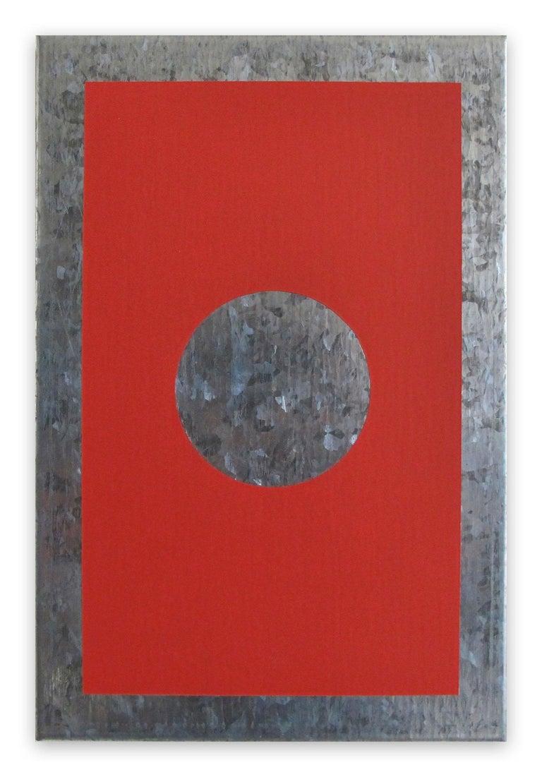 O1A-B, 2018 (Abstract painting) - Painting by Daniel Göttin